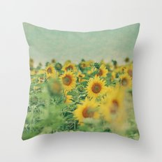 Sunny Side Up Throw Pillow