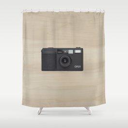 ricoh gr21 Shower Curtain