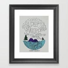 Nature II Framed Art Print