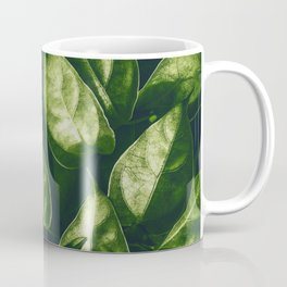 Greenery Pattern (Color) Coffee Mug