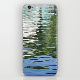 Colorful Reflections Abstract iPhone Skin