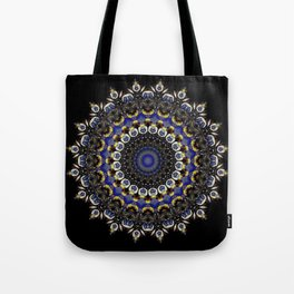 Penguins No. 11 Mandala Tote Bag
