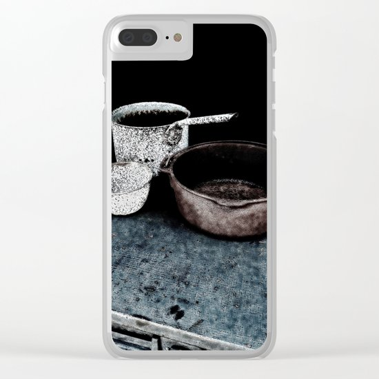 Haunted Cook Stove, Hell's Gate B.C. Clear iPhone Case