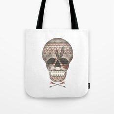 SKULL & ARROW  Tote Bag