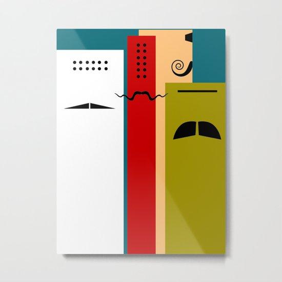 """Les Grands Chefs (della serie """"La Teoria del Colore"""") Metal Print"""