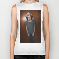 one direction Biker Tanks featuring One Direction by behindthenoise