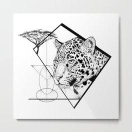 Panthera Onca Metal Print