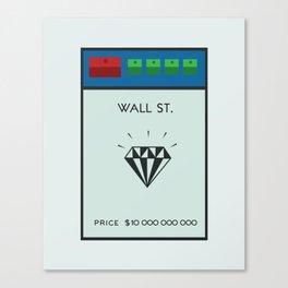 Occupy Wall Street? Canvas Print