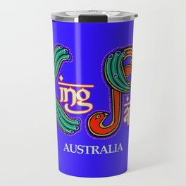 King Parrots Australia 2017 Travel Mug