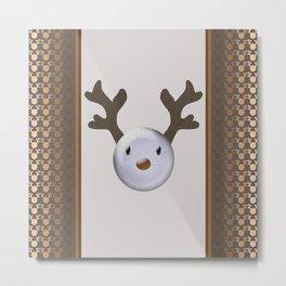 Happy baby deer Metal Print