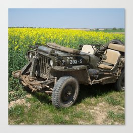 Willys MB Jeep Canvas Print