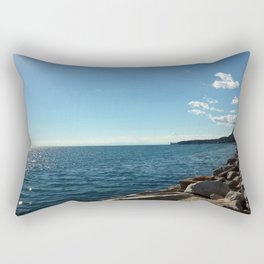 Barcola Beach Rectangular Pillow
