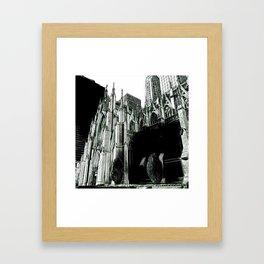 Gotham¿? Framed Art Print