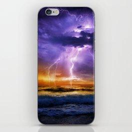 Illusionary Lightning iPhone Skin