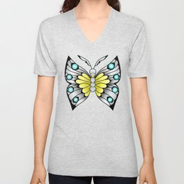 """""""I Dreamt I was a Butterfly"""" Unisex V-Neck"""