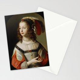 Gerard van Honthorst - Portrait of Sophia, Princess Palatine, 1641 Stationery Cards