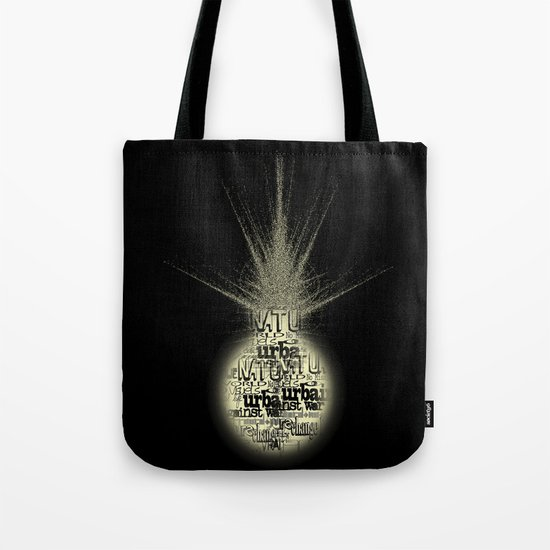 sunlight on Mars Tote Bag