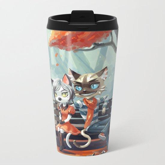 Date Metal Travel Mug