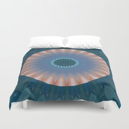 Some Other Mandala 143 Duvet Cover