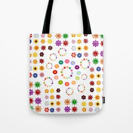 Many Flowers Tote Bag