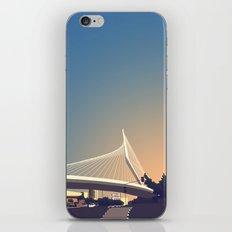 Calatrava Bridge Jerusalem iPhone & iPod Skin