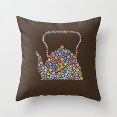 teapot / tetera Throw Pillow
