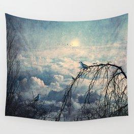 HEAVENLY BIRDS III Wall Tapestry