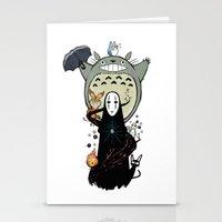 ghibli Stationery Cards featuring Ghibli by AlexisMorand