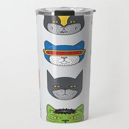 Super Cats Travel Mug
