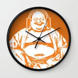 Buddah Beats Wall Clock