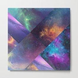 Galaxy Collage Metal Print