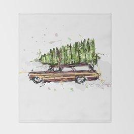 Perfect Christmas Tree Throw Blanket