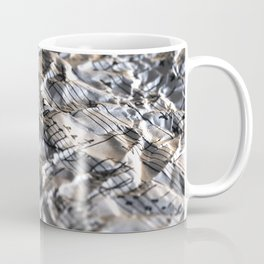 Music Score Coffee Mug