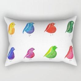 Bird Parade Rectangular Pillow