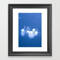 Frozen Air Framed Art Print