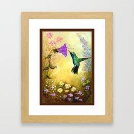 The Garden Guest Framed Art Print