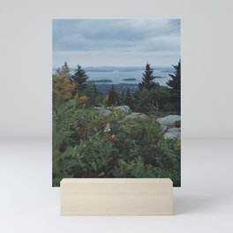 Cloudy Ocean Day Mini Art Print