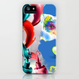 Mirada en temperas iPhone Case