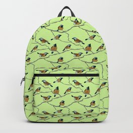 Black-Throated Finches Backpack