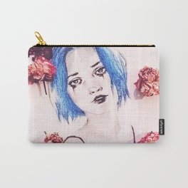 FLOWER TEARS Carry-All Pouch