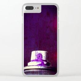 Sprayed Clear iPhone Case