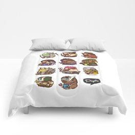 Pugliewatch Collection 2 Comforters