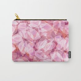 Spring Cherry Blossom Flower Pattern, Delicate Lavender Pink Floral Design Carry-All Pouch