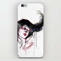 burlesque iPhone & iPod Skins featuring Burlesque by Chelsea Brouillette