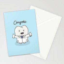 White Coat Molar Moe Stationery Cards
