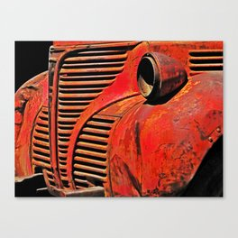 Truck Front Canvas Print
