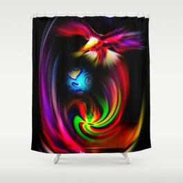Fredom Shower Curtain