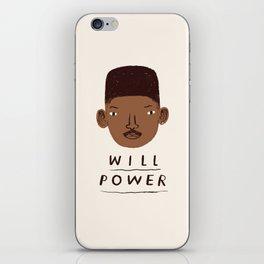 Will Power iPhone Skin