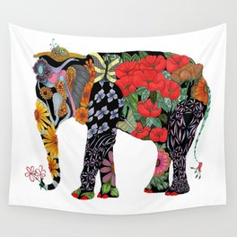 Ms. Ele Phant Wall Tapestry