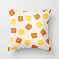 Do you love biscuits? Throw Pillow